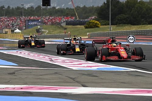 Leclerc Menderita Selama Balapan F1 GP Prancis