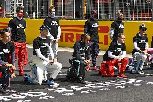 僕は人種差別主義者じゃない! ルクレール、レース前に片膝をつかない理由を説明