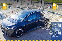 Volkswagen ID.3, la prova dei consumi reali