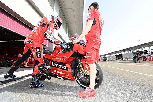 Michele Pirro Mulai Tes Ducati Desmosedici GP22