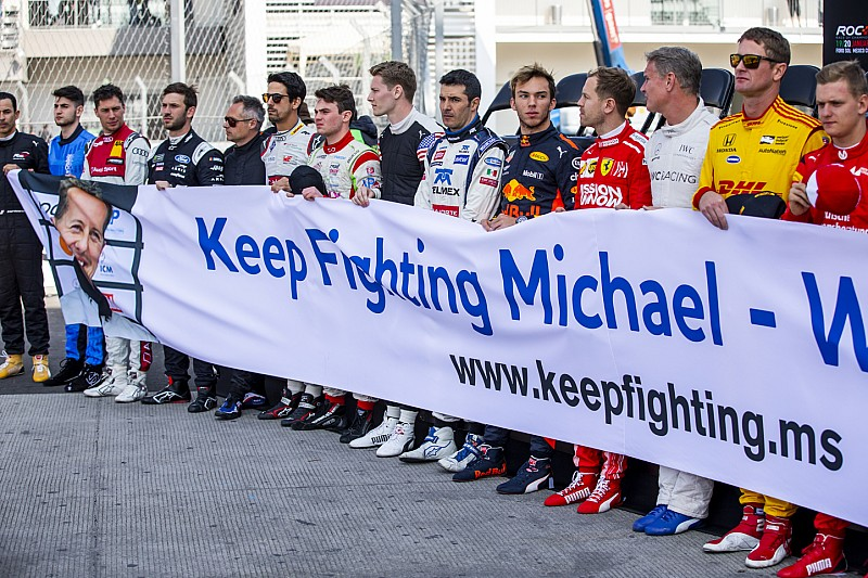 Megható üzenet Michael Schumachernek Mexikóból
