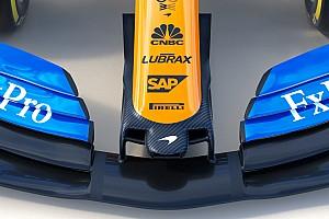 Csak az orra hasonlít a tavalyira, egyébként teljesen átszabták a McLarent