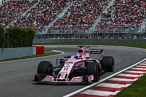 Force India ya cuenta con la última especificación del motor Mercedes