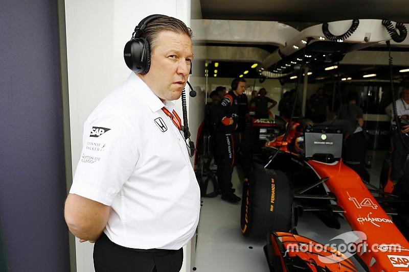 В McLaren остались довольны надежностью, но не скоростью