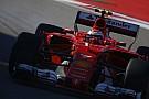 Formula 1 Ferrari: Raikkonen farà da tappo alle due Mercedes dopo il via?