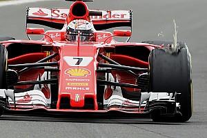 F1 Noticias de última hora Un daño externo causó el problema en el neumático de Raikkonen