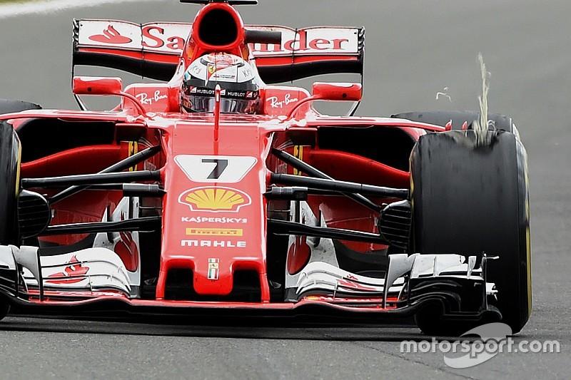 Pirelli dice que Vettel y Raikkonen tuvieron problemas diferentes