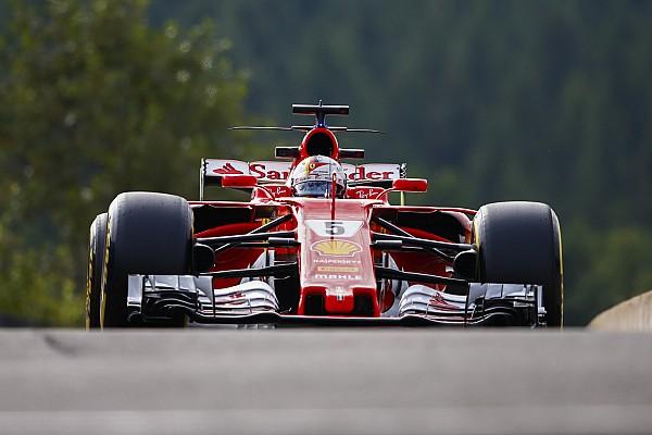 Startplatz 2: Jetzt will Ferrari-Pilot Vettel den Sieg in Spa