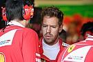 Феттель: Я зашкодив Ferrari зіткненням із Хемілтоном у Баку