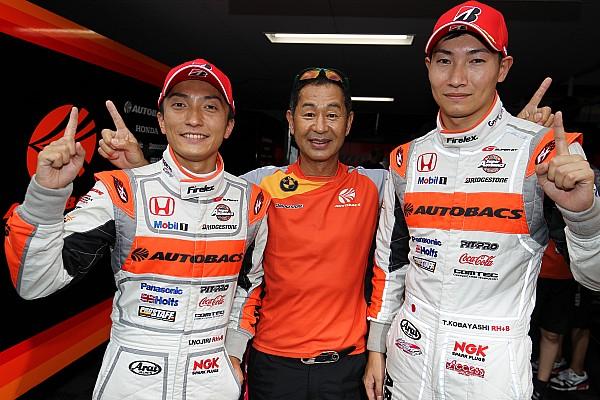 Super GT Sugo Super GT: Nojiri leads Honda 1-2-3 in qualifying
