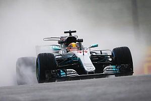 F1 Reporte de prácticas Hamilton manda en una recortada segunda práctica en Japón