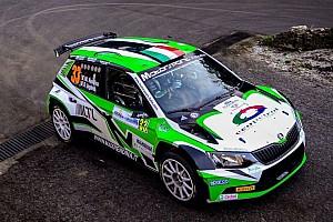 ERC Ultime notizie Rendina al via dell'Acropolis Rally con il team Motorsport Italia