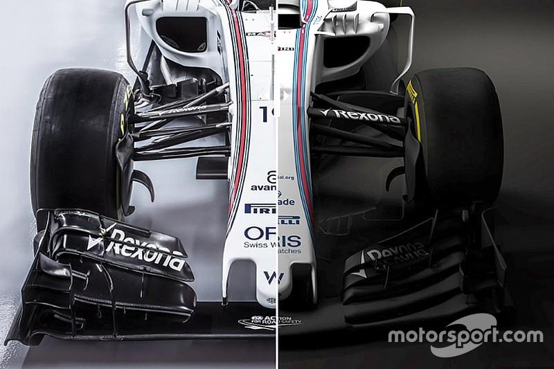 FW38 vs FW40: Perbandingan mobil F1 2016 dengan 2017