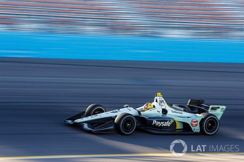 Fittipaldi comemora adaptação à Indy após testes em Phoenix