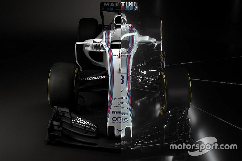 Williams FW40 Vs. Williams FW41: F1 2017 Vs. F1 2018