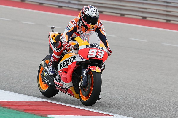 MotoGP Austin: Marquez bovenaan in warm-up