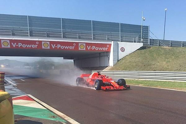 Formula 1 F1 test Pirelli: per Kvyat 118 giri a Fiorano sul bagnato con la Ferrari