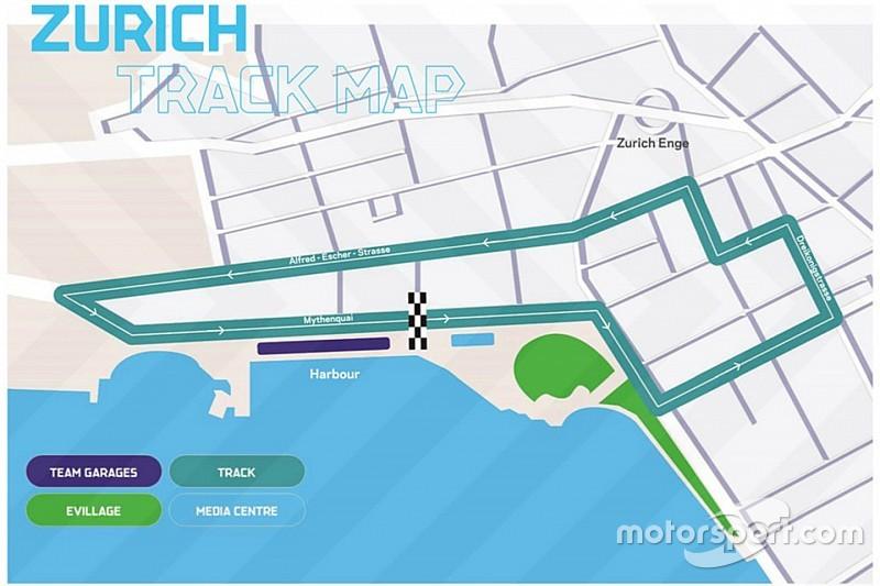 Strecke für Formel-E-Rennen in Zürich vorgestellt