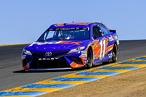 NASCAR Cup Race report Denny Hamlin inherits Stage 2 win as the leaders pit early