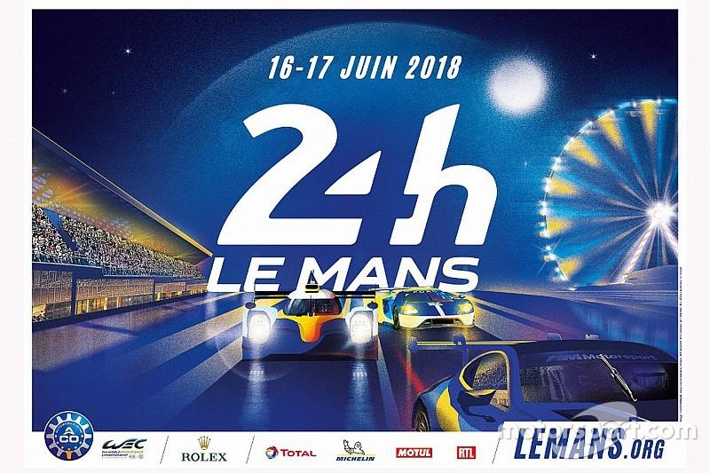 L'affiche des 24 Heures du Mans 2018 dévoilée