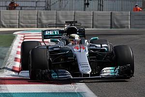 Formule 1 Réactions Hamilton : L'hypertendre est le meilleur pneu jamais fourni par Pirelli