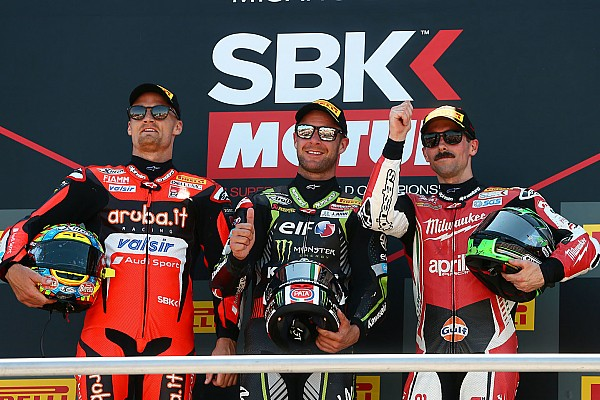 World Superbike Misano WSBK: Rea eases to ninth victory of 2018