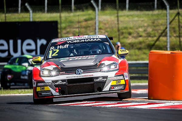 Hungary WTCR: Huff resists early challenge for Race 2 win