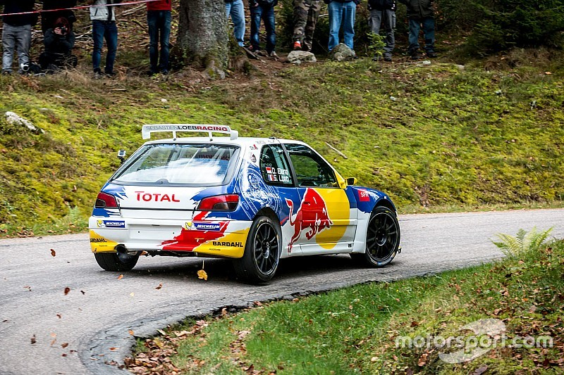 Loeb\'s first test in the rebuilt Peugeot 306 Maxi