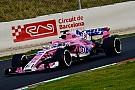 Force India, İspanya testine üç genç pilotla katılacak