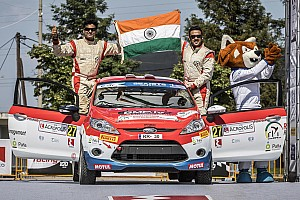 Ghosh victorious on European Rally Championship debut in Greece
