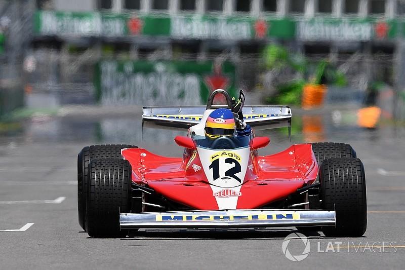 Jacques Villeneuve a aimé rouler dans la Ferrari 312 T3 de son père
