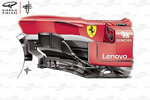 Formule 1 Analyse Les évolutions qui ont aidé Ferrari à signer la pole