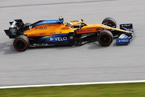 McLaren crée la surprise et se montre au niveau de Racing Point