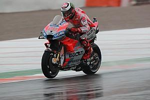 Berat motor Ducati pengaruhi cedera Lorenzo
