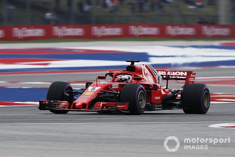Гран Прі США: Гонщики Ferrari випередили Хемілтона в третьому тренуванні