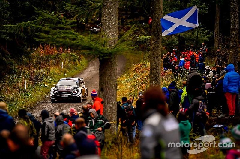Les horaires de toutes les spéciales du Rallye de Grande-Bretagne
