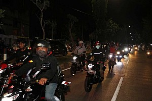 Ratusan bikers ramaikan riding malam Suzuki Special Day