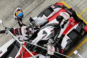 A 7-es Toyota nyert Fujiban, Alonso csak második