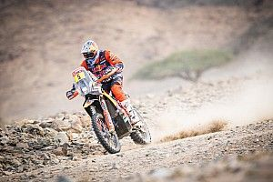 "KTM's Sunderland faced ""impossible"" task on last stage"