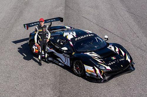 Ilott a GT World Challenge-ben indul idén egy Ferrarival
