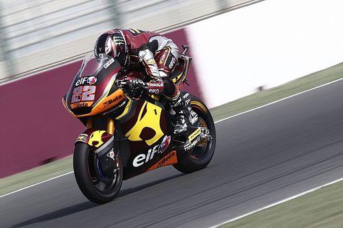 Moto2, Doha, Libere 3: Lowes non fa sconti tra vento e sabbia