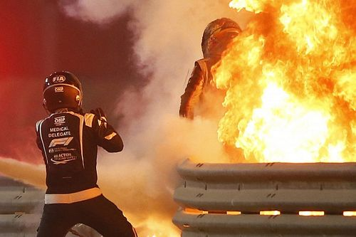 Grosjean: Cieszę się, że żyję