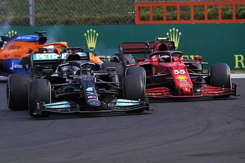 サインツJr.、今季2度目の表彰台も悔い残る?「優勝争いが目の前……本来ならその中に加われたのに」