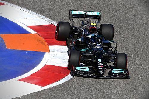 F1: Mercedes troca partes do motor de Bottas, que passa a largar da 16ª posição no GP da Rússia
