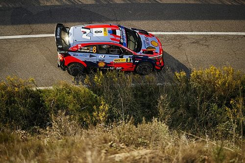 Chassis damage rules Hyundai's Tanak out of WRC Rally Spain