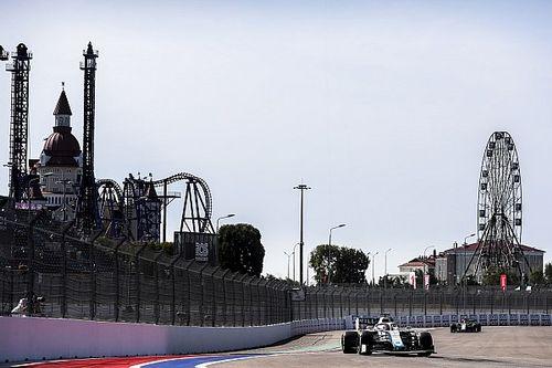 Las fotos del inicio del GP de Rusia 2020 de Fórmula 1
