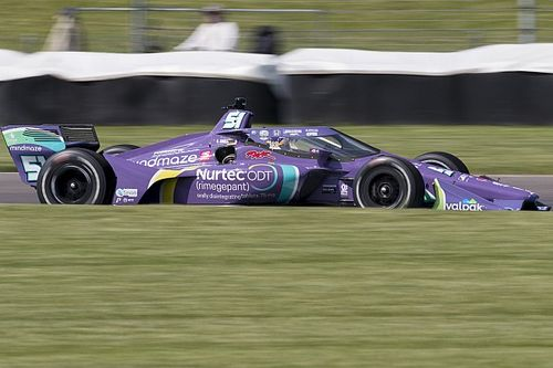Грожан с третьей попытки выиграл квалификацию в IndyCar