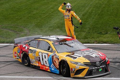 NASCAR Kansas City: Kyle Busch siegt am Geburtstag