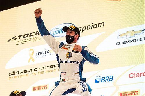 """Stock Car: Após vitória, Félix da Costa diz que """"não vê a hora de voltar"""""""