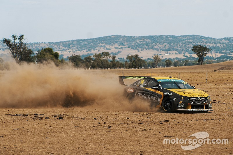Holden Supercar hits the dirt for Slade livery launch
